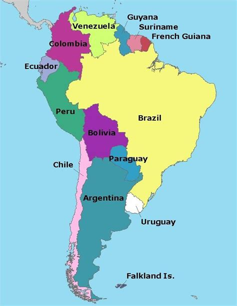 south american best 25 south america map ideas on