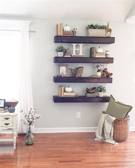 wall shelves for room 35 floating shelves ideas for different rooms digsdigs