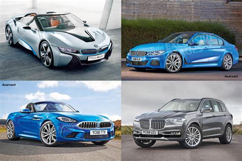 Bmw Models by The 10 Bmw Models Coming Before The End Of 2018