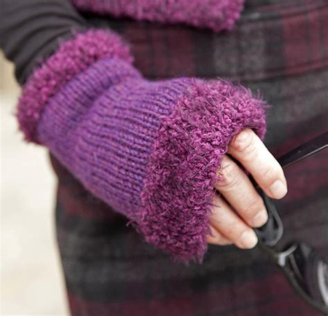 wrist warmers free knitting pattern wrist and warmer knitting patterns in the loop knitting