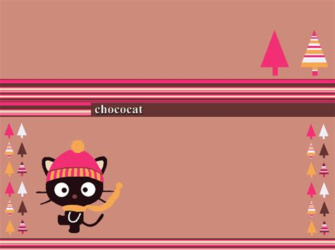 Cat Wall Stickers chococat images winter wallpaper hd wallpaper and