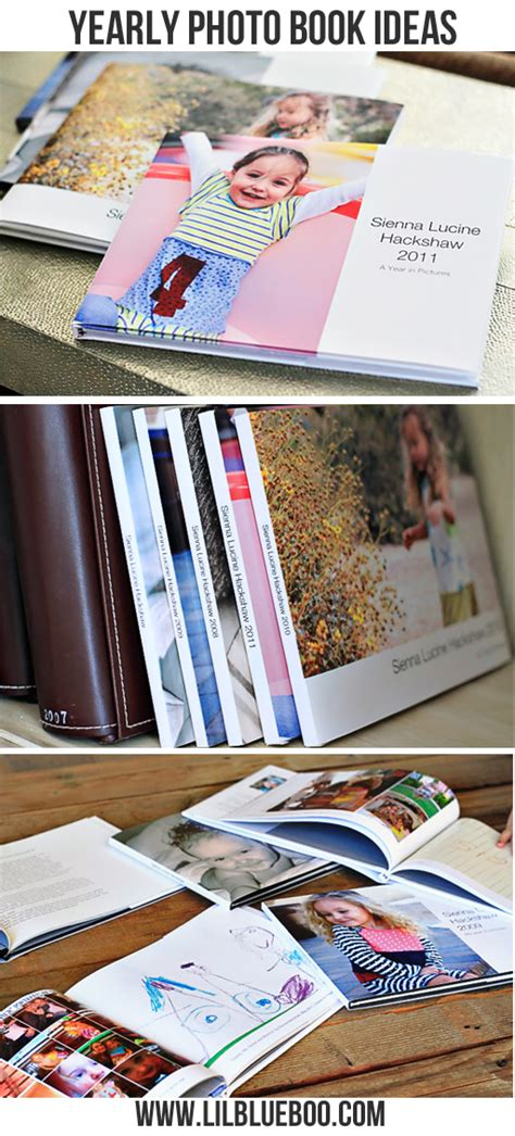 picture book ideas yearly photo book ideas
