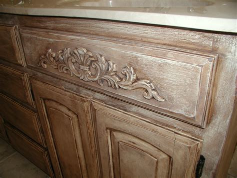 chalk paint brown project transforming builder grade cabinets to world