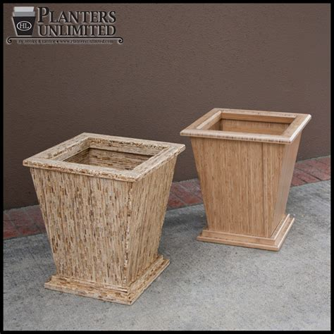 wooden planter boxes large wooden planters commercial large wood planter boxes