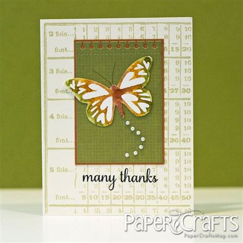 paper crafting magazines 219 best images about thank you cards on