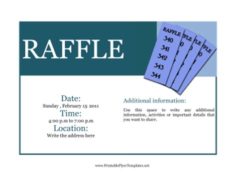 raffle flyer template raffle template out of darkness
