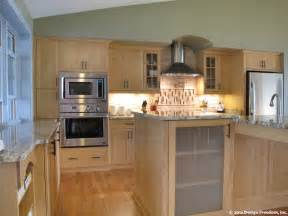 and light kitchen cabinets kitchen with stainless steel appliances and light wood
