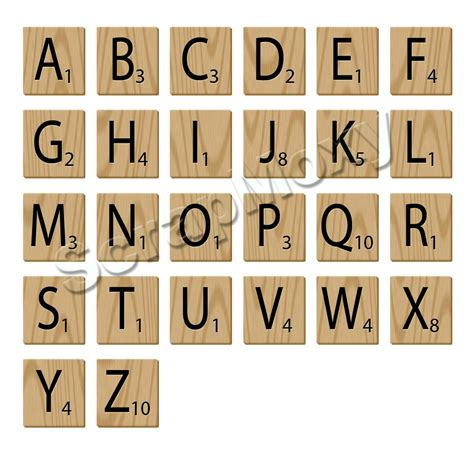 scrabble letter images scrabble alphabet letters for scrapbooking in photoshop