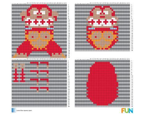 perler bead patterns 3d 8 bit free 3d perler bead patterns