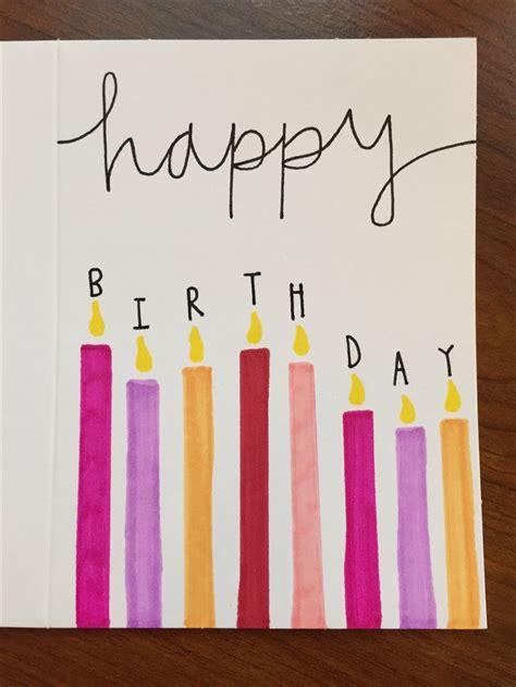 how to make diy birthday cards 25 unique diy birthday cards ideas on