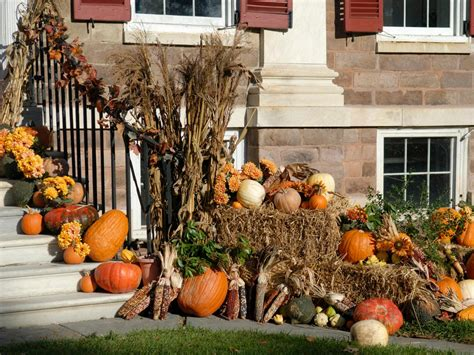 ideas for fall fall decorating for the front yard diy landscaping