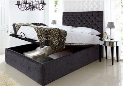 king size bed ottoman storage 6 king size bed frames for your bedroom