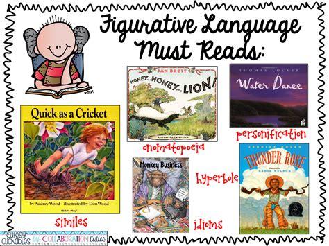 picture books to teach figurative language collaboration cuties figurative language with book