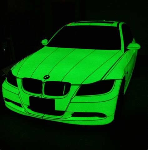 glow in the paint car for sale glow in the car wrap glow in the car