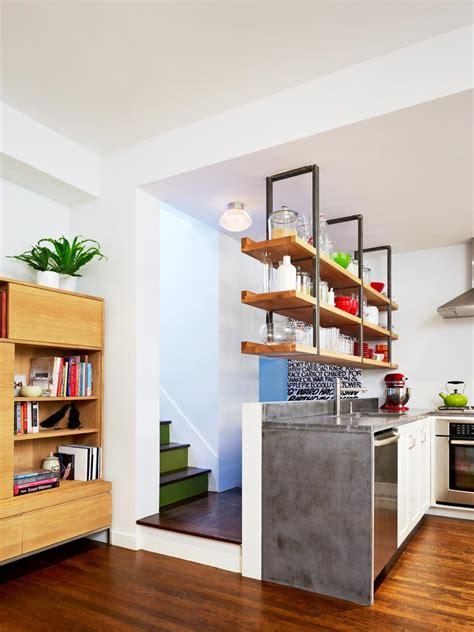 kitchen shelves design 15 design ideas for kitchens without cabinets hgtv