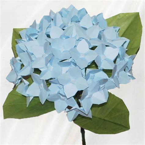 origami hydrangea buy origami hydrangea single origami flower