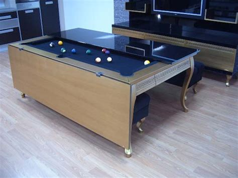 pool table dining pool table disguised as dining room table