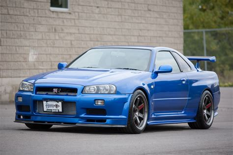 Skyline Gtr R 34 by 1999 Nissan Skyline Gtr R34 700hp Rightdrive Usa