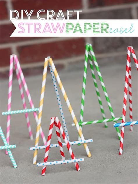 paper craft straws diy paper straw crafts