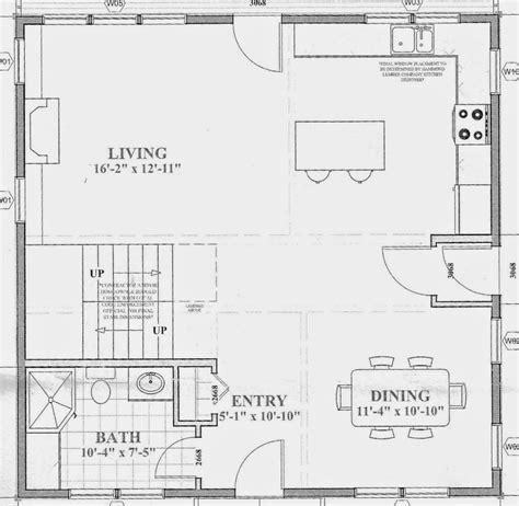 floor plans open concept sopo cottage defining rooms in an open concept floor plan