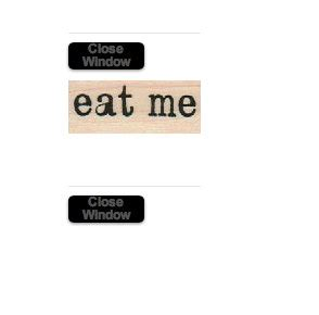 eat me rubber st rubber st eat me in mounted craft