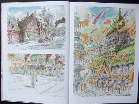 howls moving castle picture book book review the of howl s moving castle parka blogs