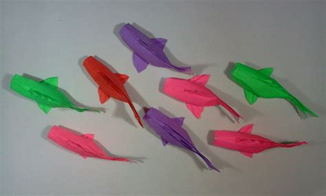 origami fish how to make origami fish koi sipho mabona