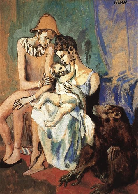 picasso paintings for sale by granddaughter pablo picasso 1905 acrobat s family with a monkey