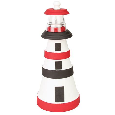 lighthouse craft project clay pot lighthouse crafts