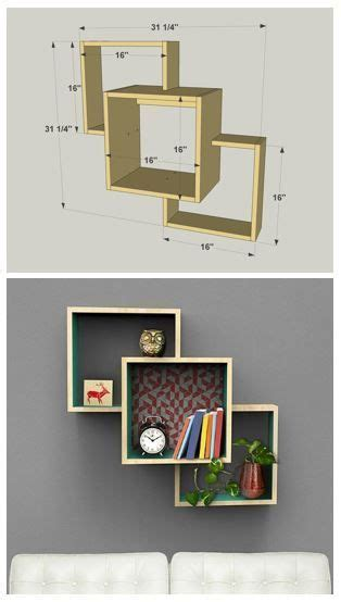 wall mounted display shelves best 25 diy wall shelves ideas on wall