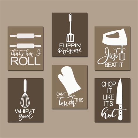 kitchen design quotes kitchen quote wall utensil pictures canvas by