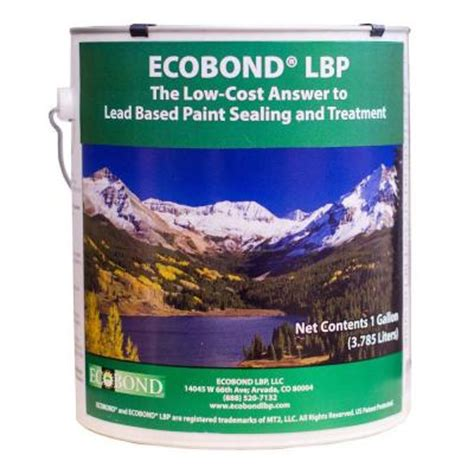 home depot paint no primer ecobond lbp 1 gal lead based paint sealant and treatment