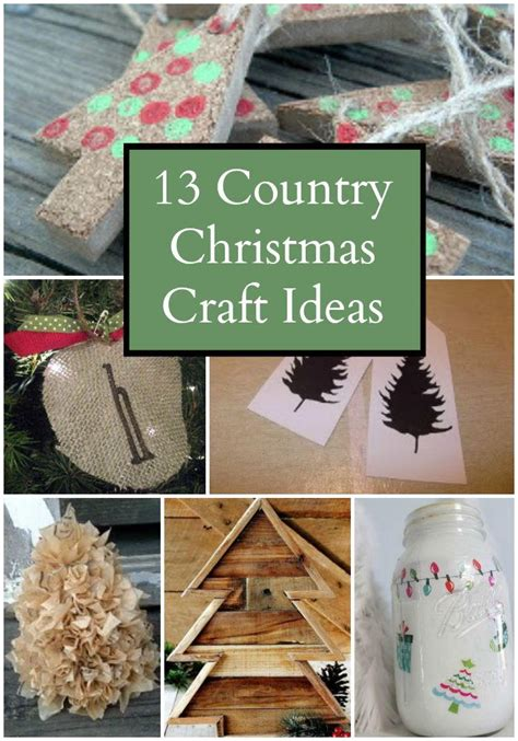 country craft projects country craft ideas allfreechristmascrafts