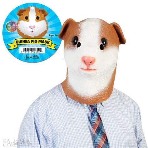 Crazy Home Decor guinea pig mask archie mcphee amp co
