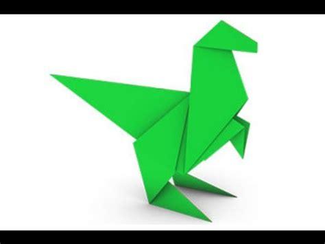 simple dinosaur origami origami dinosaur