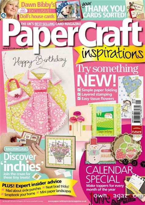 paper craft magazine papercraft inspirations january 2011 187 pdf