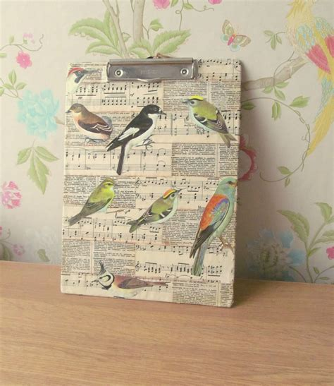 decoupage clipboard pink flamingo handcrafting ideas for decoupage