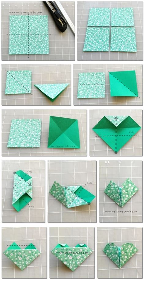 how to make an origami bookmark how to make origami bookmark step by step tutorial