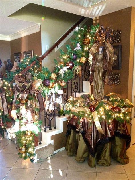 stairway garland staircase garland