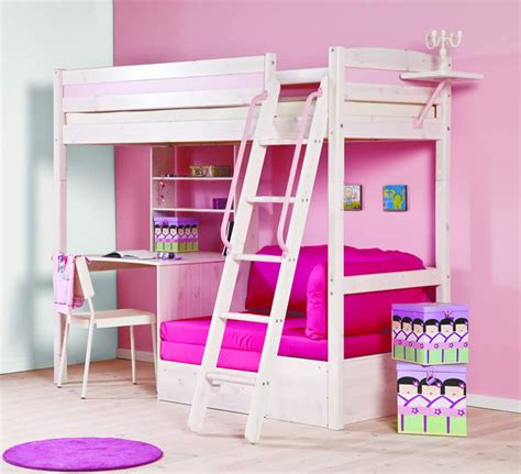 mid high bunk beds thuka trendy 29 high sleeper bed with desk and sofa