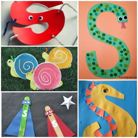 letter a crafts for 18 letter s activities
