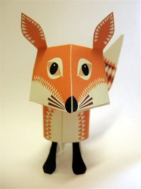 paper craft animals adorable printable papercraft animals and easy to