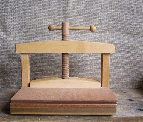 woodworking press wood flower press or book press