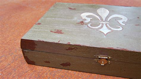 how to make box for jewelry antiqued diy jewelry box