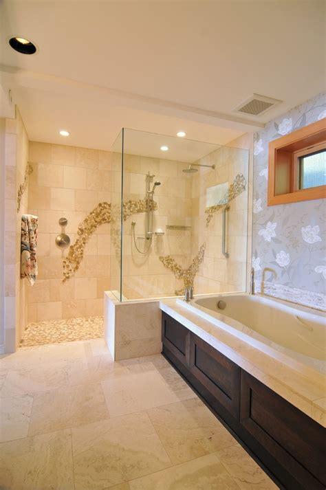 Custom Made Kitchen Cabinet Doors doorless walk in shower bathroom contemporary with