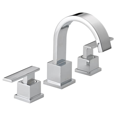 delta bathroom fixtures 3553lf two handle widespread lavatory faucet