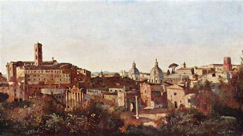 Gärten Der by Jean Baptiste Camille Corot Rom Forum Und Die Farnese