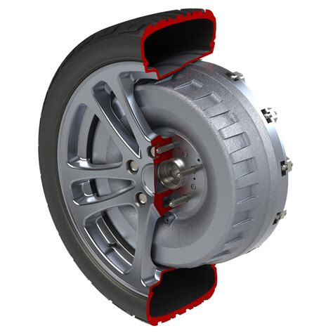 In Wheel Electric Motor by Protean In Wheel Electric Motor To Enter Production In 2014