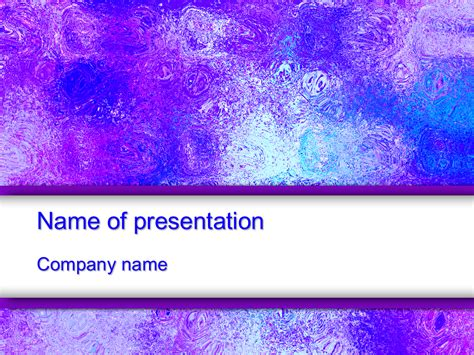 download free colorful ice powerpoint template for your