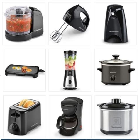 kohl s 6 small kitchen appliances for only 3 29 each
